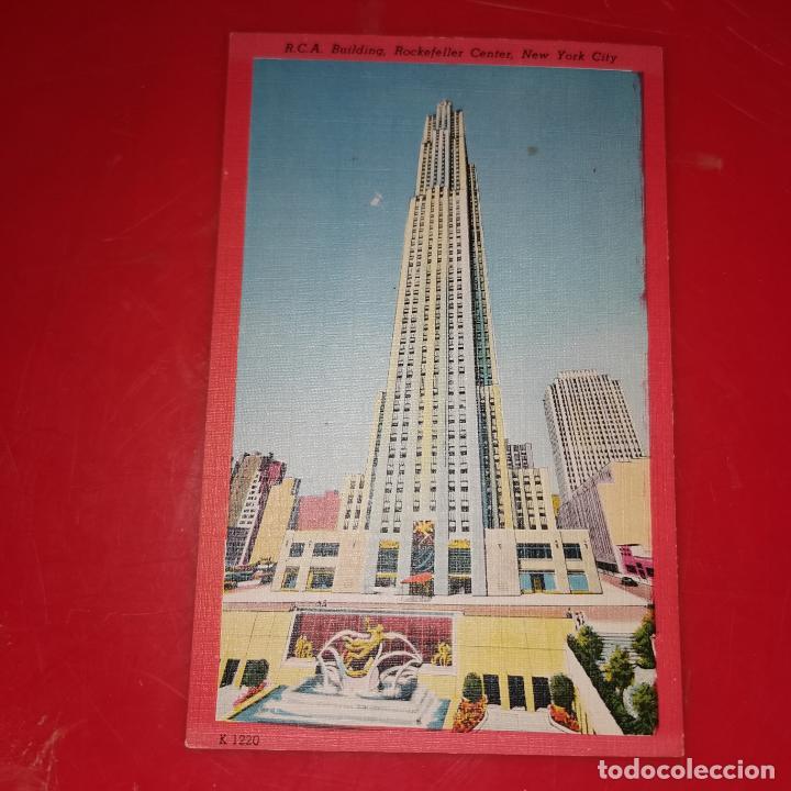 Postales: Lote 11 postales de Nueva York año 1950 sin circular Muy buen estado - Foto 3 - 192225127