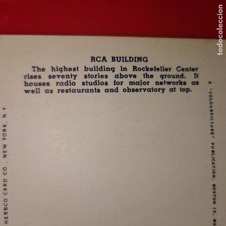 Postales: Lote 11 postales de Nueva York año 1950 sin circular Muy buen estado - Foto 4 - 192225127