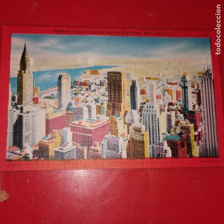 Postales: Lote 11 postales de Nueva York año 1950 sin circular Muy buen estado - Foto 5 - 192225127