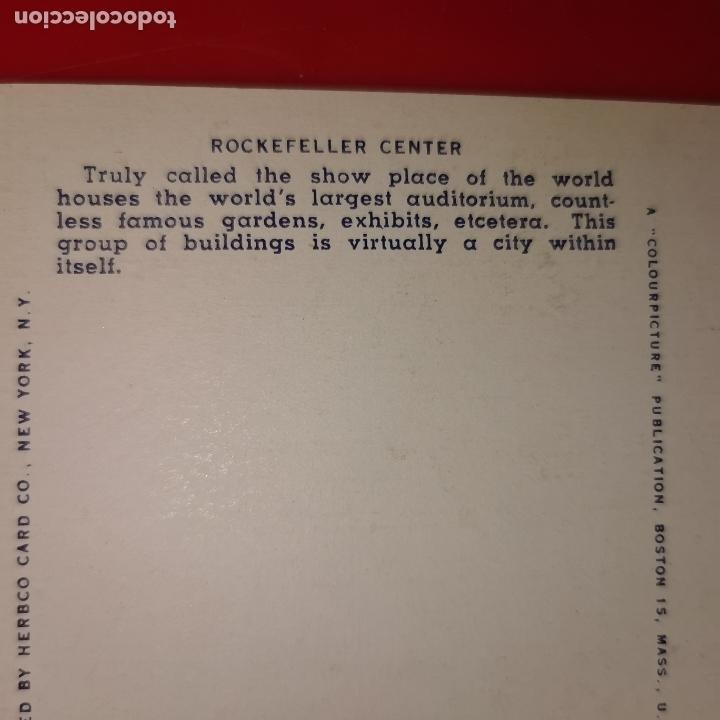 Postales: Lote 11 postales de Nueva York año 1950 sin circular Muy buen estado - Foto 8 - 192225127