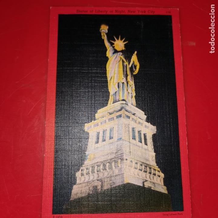 Postales: Lote 11 postales de Nueva York año 1950 sin circular Muy buen estado - Foto 11 - 192225127