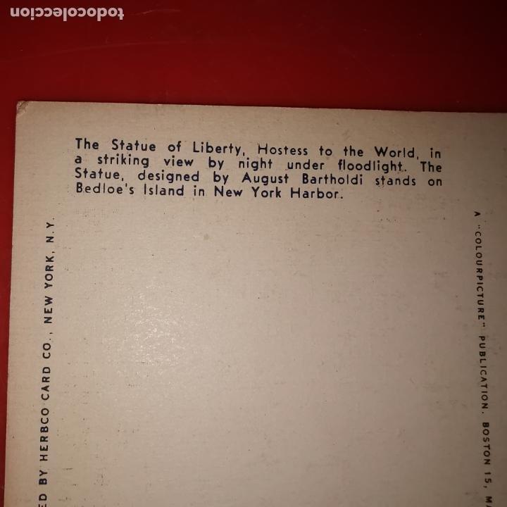 Postales: Lote 11 postales de Nueva York año 1950 sin circular Muy buen estado - Foto 12 - 192225127