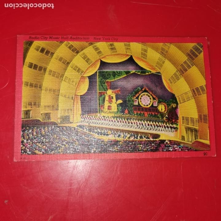 Postales: Lote 11 postales de Nueva York año 1950 sin circular Muy buen estado - Foto 13 - 192225127