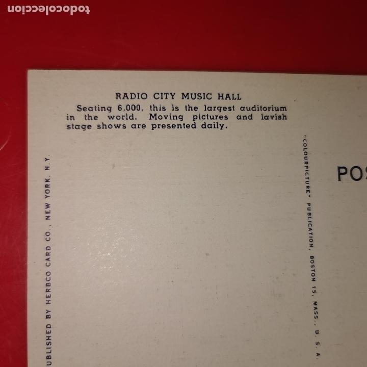 Postales: Lote 11 postales de Nueva York año 1950 sin circular Muy buen estado - Foto 14 - 192225127