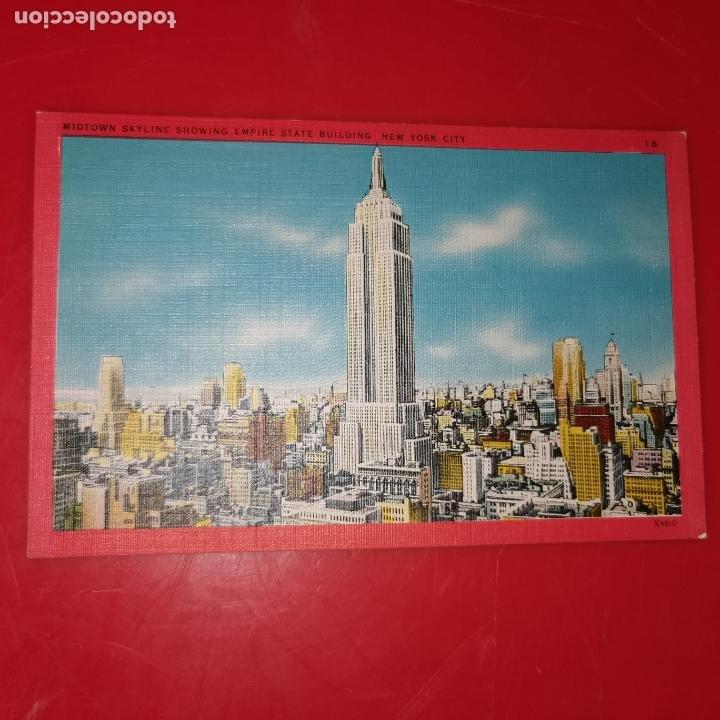 Postales: Lote 11 postales de Nueva York año 1950 sin circular Muy buen estado - Foto 15 - 192225127