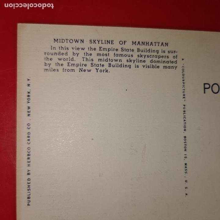 Postales: Lote 11 postales de Nueva York año 1950 sin circular Muy buen estado - Foto 16 - 192225127