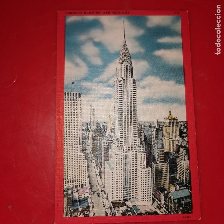 Postales: Lote 11 postales de Nueva York año 1950 sin circular Muy buen estado - Foto 17 - 192225127