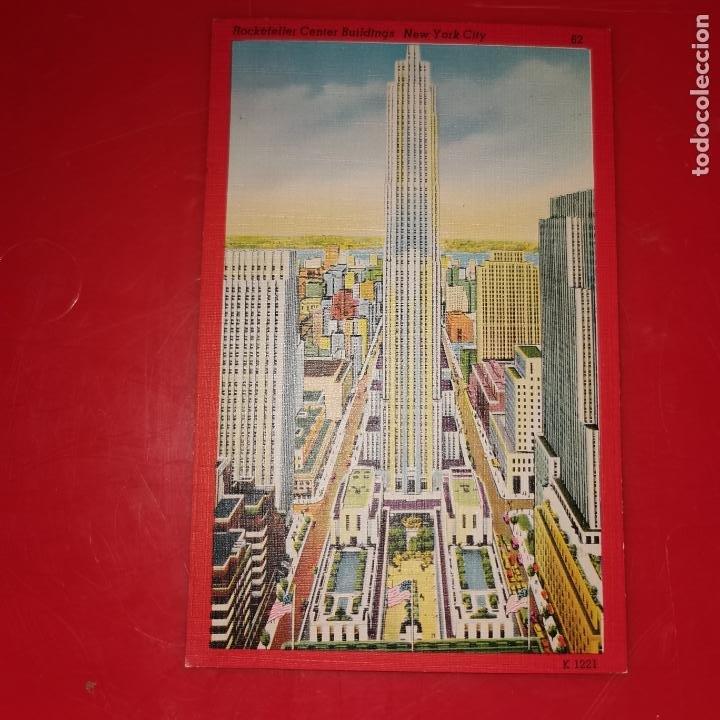 Postales: Lote 11 postales de Nueva York año 1950 sin circular Muy buen estado - Foto 19 - 192225127