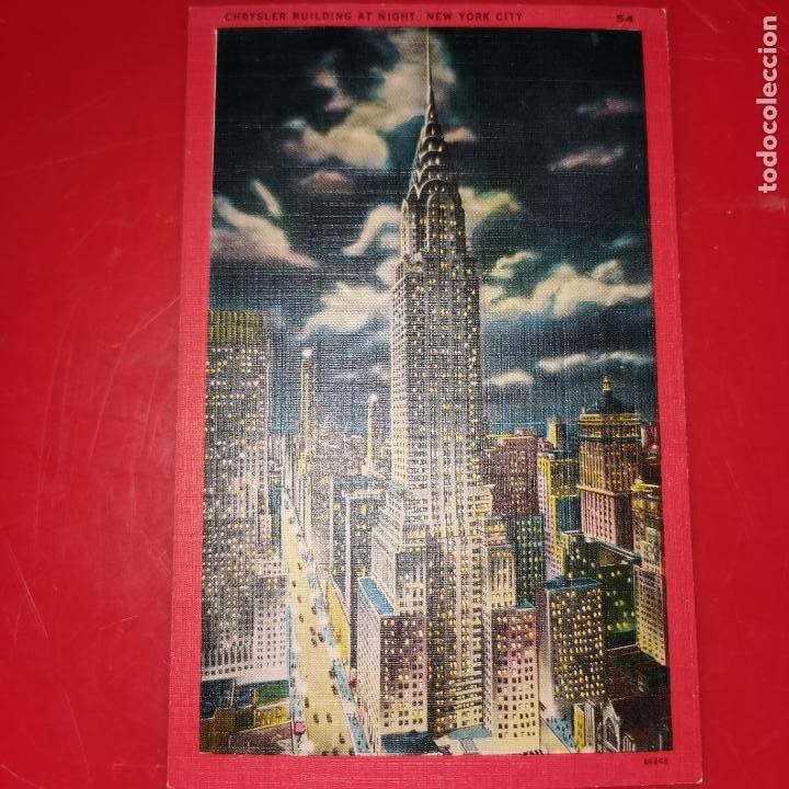 Postales: Lote 11 postales de Nueva York año 1950 sin circular Muy buen estado - Foto 21 - 192225127