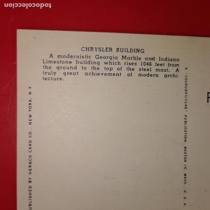 Postales: Lote 11 postales de Nueva York año 1950 sin circular Muy buen estado - Foto 22 - 192225127