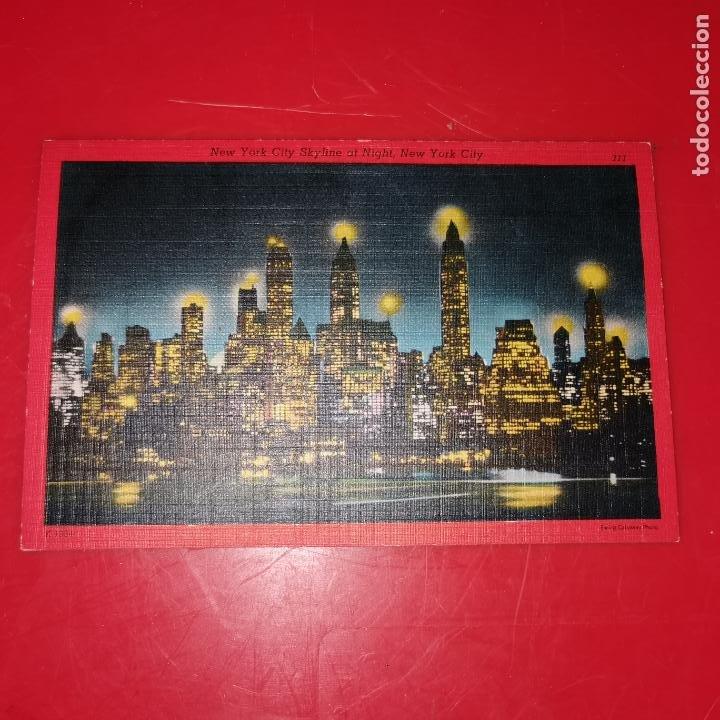 LOTE 11 POSTALES DE NUEVA YORK AÑO 1950 SIN CIRCULAR MUY BUEN ESTADO (Postales - Postales Extranjero - América)