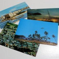 Postales: LOTE DE 4 POSTALES ANTIGUAS DE PUERTO RICO - SIN CIRCULAR. Lote 192258785