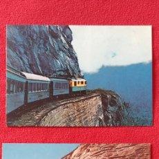 Postales: 2 LÁMINAS/ POSTALES DE TRENES DE LA UNIÓN PACIFIC. Lote 192283072