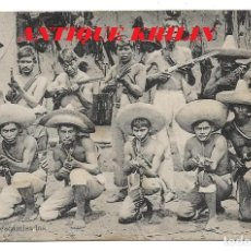 Postales: MEXICO .- LOS DESCAMISADOS .- EDICION T. & J. HAMBURGO. Lote 192285000