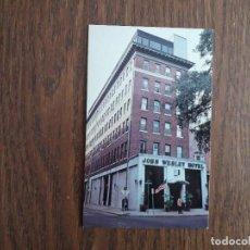 Postales: POSTAL DE PUBLICIDAD, HOTEL JOHN WESLEY. USA. Lote 192287393