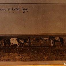 Postales: POSTAL METÁLICA, ARGENTINA, ENTRE RÍOS. ANTIGUA ORIGINAL.. Lote 192287493