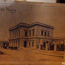Postales: POSTAL METÁLICA. ARGENTINA, HOSPITAL MILITAR. ORIGINAL, ANTIGUA.. Lote 192287675