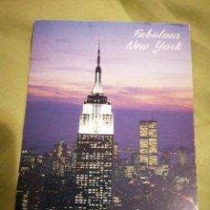 Postales: TORRES GEMELAS NUEVA YORK. Lote 192367871