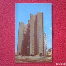 Postales: POSTAL POST CARD CUBA EDIFICIO MULTIFAMILIAR MALECÓN Y F. VEDADO LA HABANA HAVANA, BUILDING DWELLING. Lote 194204956