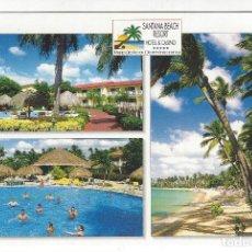 Postales: REPUBLICA DOMINICANA.- SANTANA BEACH RESORT - HOTEL CASINO - LA ROMANA. Lote 194205828