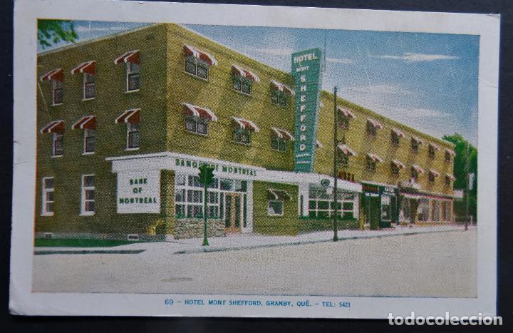 HOTEL MONT SHEFFORD, GRANBY, CANADA, POSTAL CIRCULADA AÑOS 50 (Postales - Postales Extranjero - América)