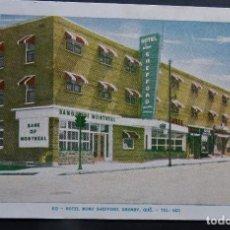 Postales: HOTEL MONT SHEFFORD, GRANBY, CANADA, POSTAL CIRCULADA AÑOS 50. Lote 194223850