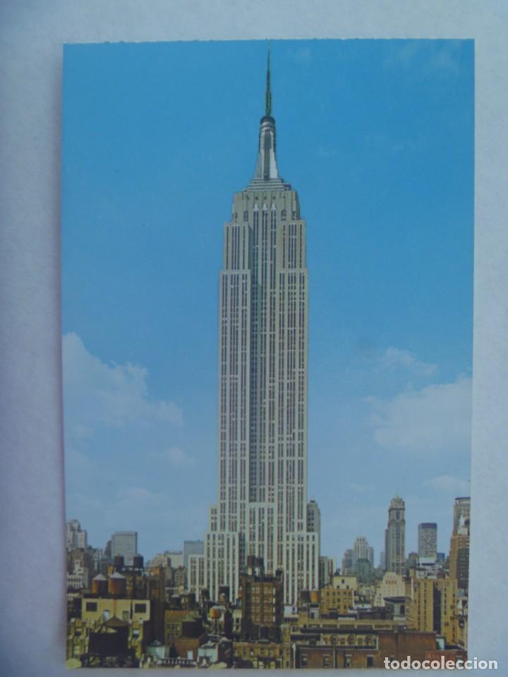 POSTAL DE NUEVA YORK ( ESTADOS UNIDOS ): EMPIRE STATE BUILDING (Postales - Postales Extranjero - América)