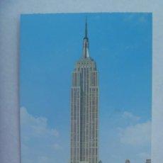 Postales: POSTAL DE NUEVA YORK ( ESTADOS UNIDOS ): EMPIRE STATE BUILDING. Lote 194229825