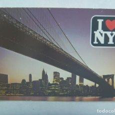 Postales: POSTAL DE NUEVA YORK ( ESTADOS UNIDOS ): EL PUENTE DE BROOKLYN . Lote 194359355