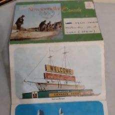 Postales: CANADA LIBRO FOTOS NEWFOUNDLAND 1875. Lote 194517016