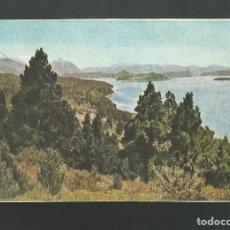 Postales: POSTAL SIN CIRCULAR - LAGO NAHUEL-HUAPI CIPRESES - ARGENTINA - EDITA FOTO ALBERTO M. DE AGOSTINI. Lote 194751088