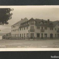 Postales: POSTAL SIN CIRCULAR - HOTEL ITALIA 12 - NAHUEL HUSPI - BARILOCHE - ARGENTINA - EDITA F. LONGHI . Lote 194751427