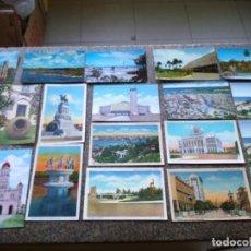 Postales: POSTALES -- LOTE DE 39 POSTALES DE CUBA -- REPUBLICA DE CUBA -- . Lote 194865112