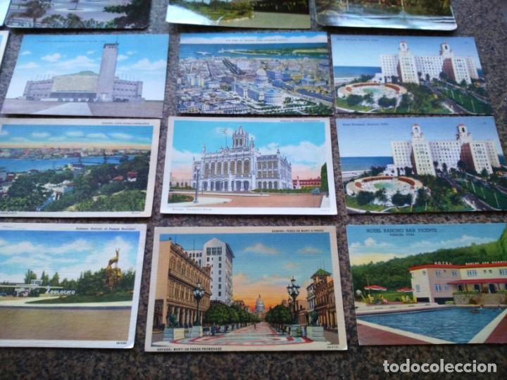 Postales: POSTALES -- LOTE DE 39 POSTALES DE CUBA -- REPUBLICA DE CUBA -- - Foto 2 - 194865112