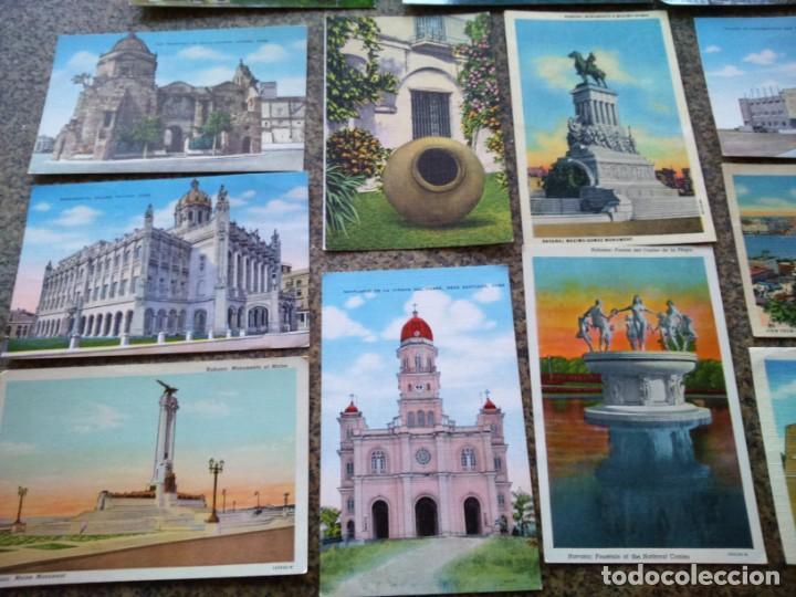 Postales: POSTALES -- LOTE DE 39 POSTALES DE CUBA -- REPUBLICA DE CUBA -- - Foto 3 - 194865112