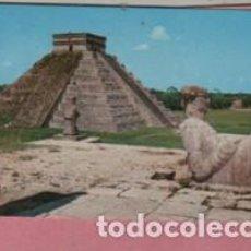 Postales: POSTAL DE MÉXICO MEJICO - CASTILLO CON EL CHAC MOOL V5731 31-280. Lote 194957887