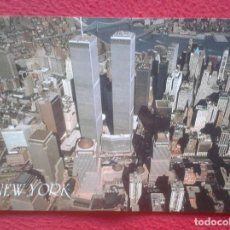 Postales: POSTAL POST CARD NEW NUEVA YORK USA ESTADOS UNIDOS MANHATTAN WORLD TRADE CENTER TORRES GEMELAS VISTA. Lote 195068685