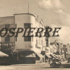 Postales: FOTO-POSTAL, CALLE O´HIGGINS-BAHÍA BLANCA, ARGENTINA Nº 111, SIN CIRCULAR. Lote 195329865