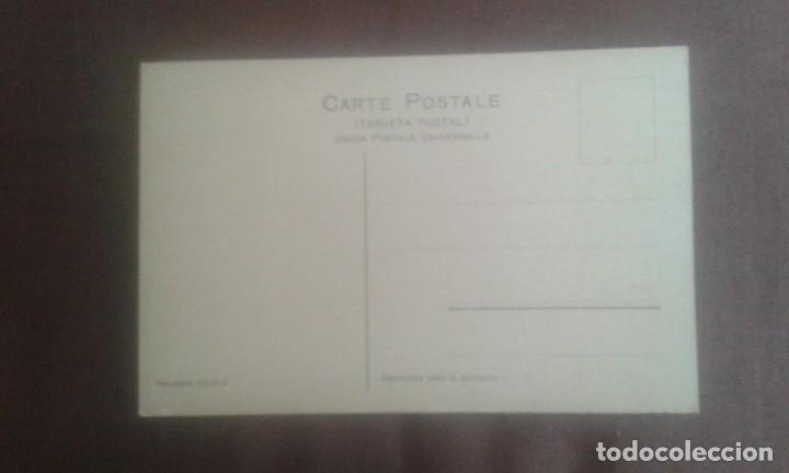 Postales: ANTIGUA POSTAL BUENOS AIRES. JARDINES DE LA RECOLETA. A26. PEUSER. - Foto 5 - 195741316