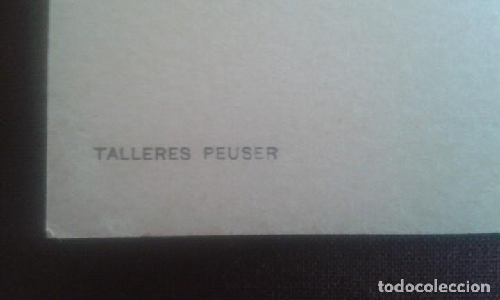 Postales: ANTIGUA POSTAL BUENOS AIRES. JARDINES DE LA RECOLETA. A26. PEUSER. - Foto 7 - 195741316