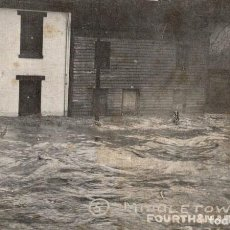 Postales: MIDDLETOWN. O. FLOOD. FOURTH & MAIN STS.. Lote 196138635