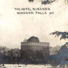 Postales: THE HOTEL NIAGARA NIAGARA FALLS N. Y.. Lote 196138678
