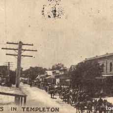 Postales: TROOPS IN TEMPLETON. Lote 196138735