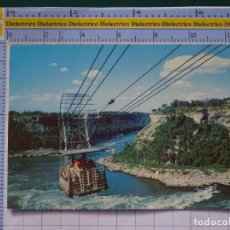 Cartes Postales: POSTAL DE ESTADOS UNIDOS - CANADÁ. SPANISH AERIAL CAR RAILWAY OVER GREAT WHIRLPOOL. TELEFÉRICO. 1644. Lote 197989258