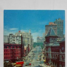 Postales: POSTAL THE CAPITOL IN BACKGROUND - ALBANY, N. Y.. Lote 198031540