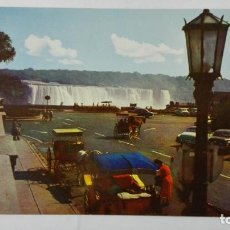 Postales: POSTAL THE AMERICAN FALLS FROM OAKES GARDEN THEATRE, NIAGARA FALLS, CANADA. Lote 198034245