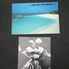 Postales: CUBA , 2 POSTALES CIRCULADAS. Lote 198471797