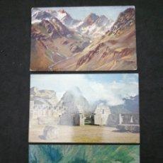 Postales: PERÚ, MACHUPICCHU, CIRCULADAS AÑO 72. Lote 198474560