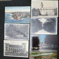 Postales: PUERTO RICO, LOTE DE 7 POSTALES. VARIAS VISTAS. Lote 198476873