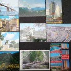 Postales: VENEZUELA, LOTE DE 10 POSTALES CIRCULADAS AÑOS 70. Lote 198480681